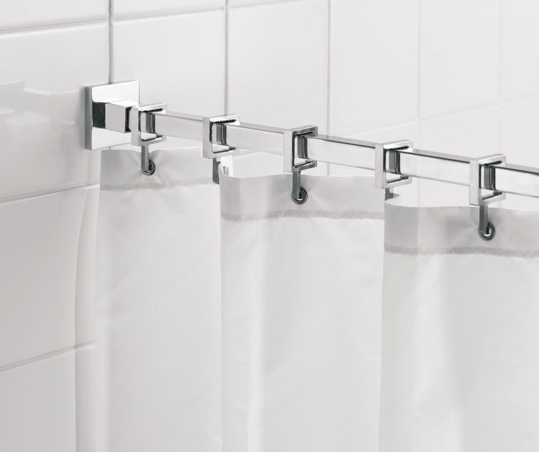 Croydex Curved Shower Curtain Rail Shower Curtain Rods Luxury