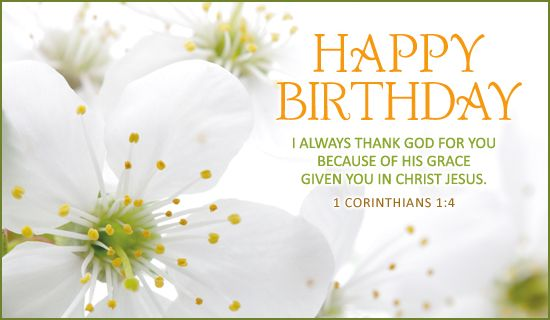 Free Happy Birthday eCard eMail Free Personalized Birthday Cards – Birthday Greeting Christian