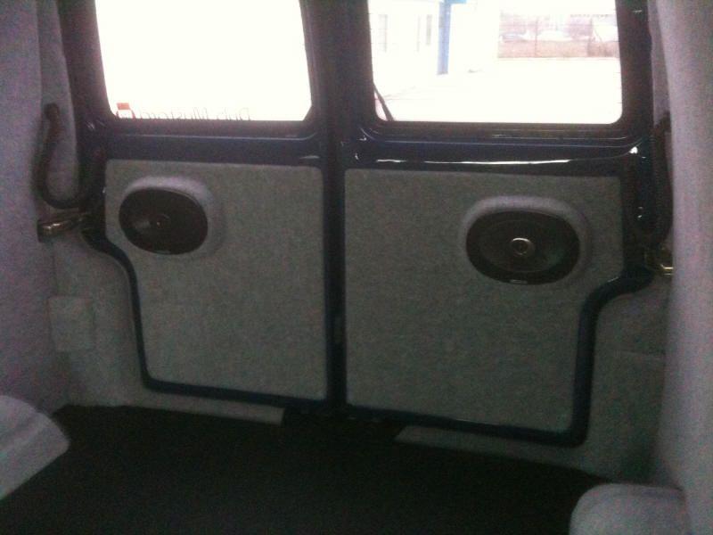 vw transporter t4 barn door speaker panels car vw bus doka vw t5 vw camper volkswagen. Black Bedroom Furniture Sets. Home Design Ideas