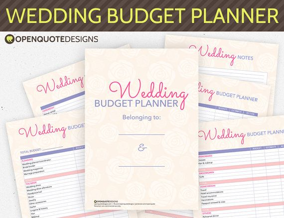 Wedding Planning Wedding Planner Organizer By Openquotedesigns