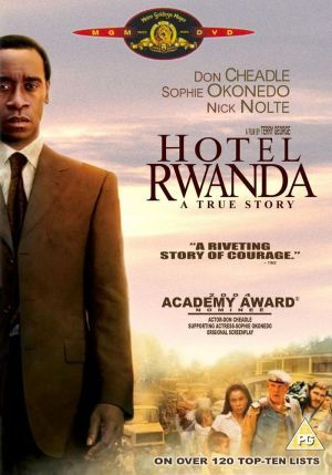 The true story of Paul Rusesabagina, a hotel manager who housed over a thousand Tutsi refugees during their struggle against the Hutu militia in Rwanda.  Director: Terry George