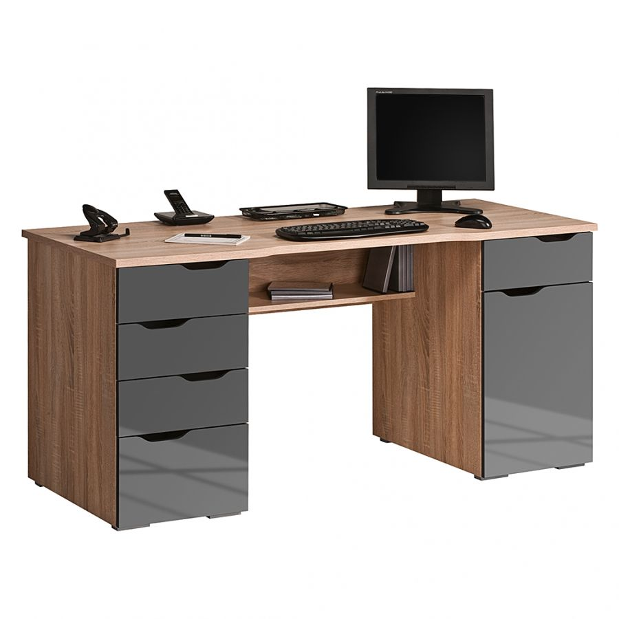 Bureau Pour Ordinateur Scarlett Acheter Home24 Computer Desk Design Computer Table Design Office Desk