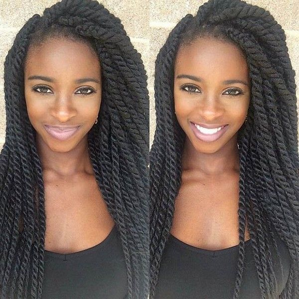 51 kinky twist braids hairstyles with pictures twisted braid black hair twist braids with synthetic kanekalon hair pmusecretfo Image collections