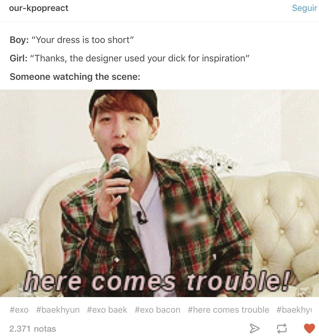 In Posting This Just For The Baekhyun Meme Also The Name Exo Funny Exo Memes Exo Derp