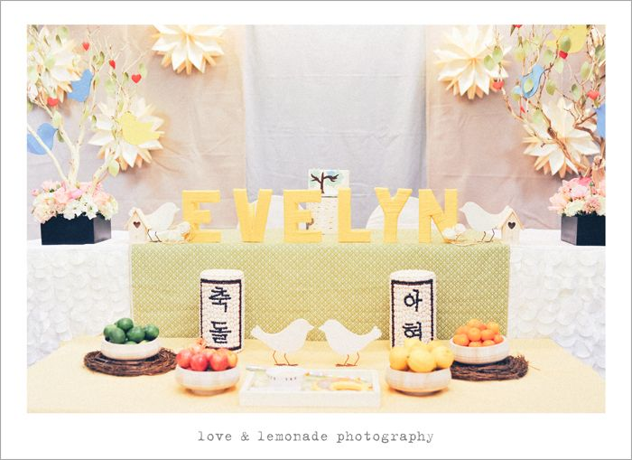 Gorgeous 1 Year Olds Birthday Party