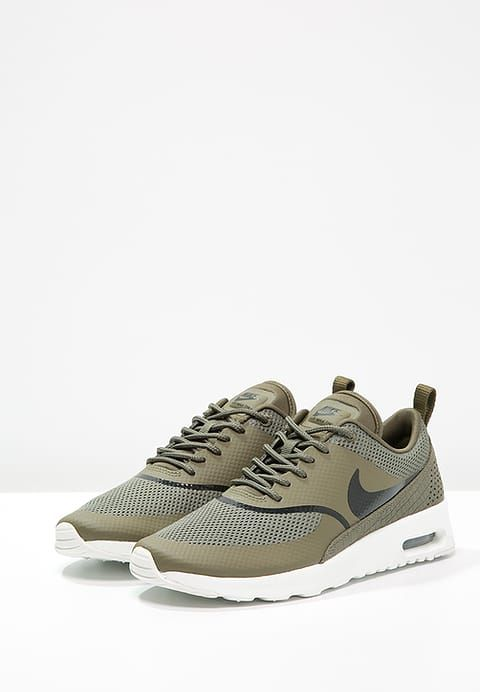 reputable site f62e3 48a62 Schoenen Nike Sportswear AIR MAX THEA - Sneakers laag - medium olive black summit  white Olijf  € 119,95 Bij Zalando (op 13-1-17).