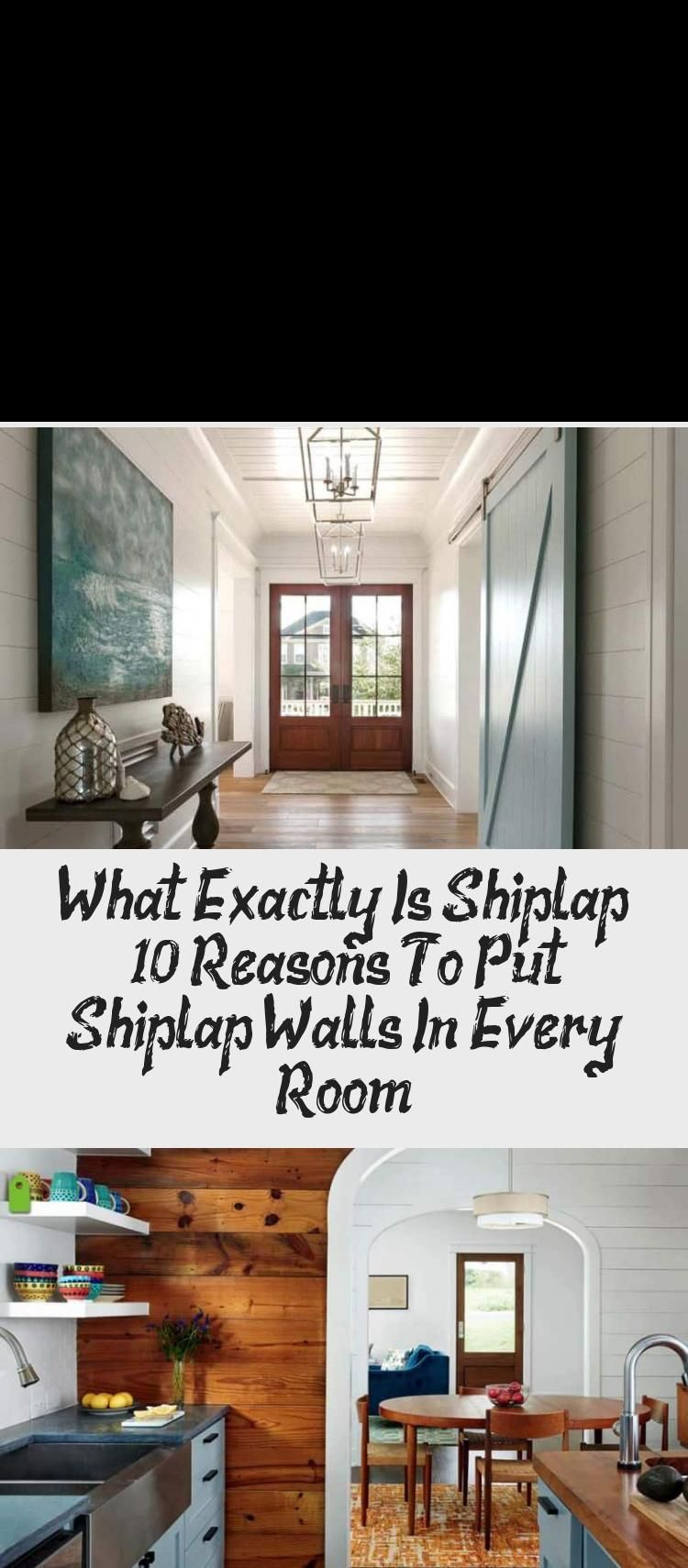 Shiplap Is A Wooden Sheathing That Is Used For The Construction Of Sheds And Other Forms Of Buildings It Is Most In 2020 Ship Lap Walls Shiplap Rustic Houses Exterior