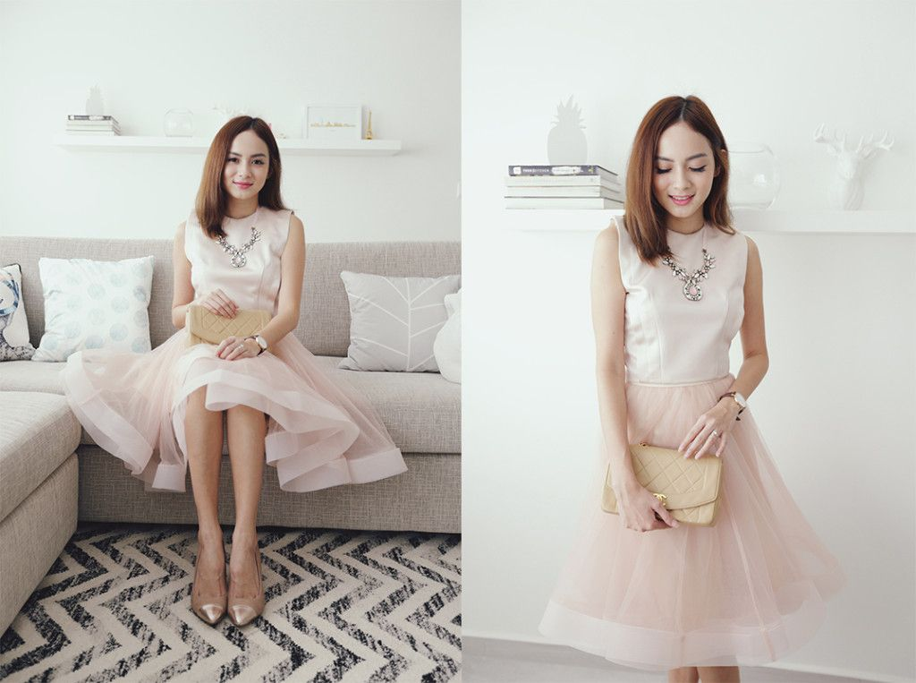 Jessica Tham Wedding Lunch Outfit 1