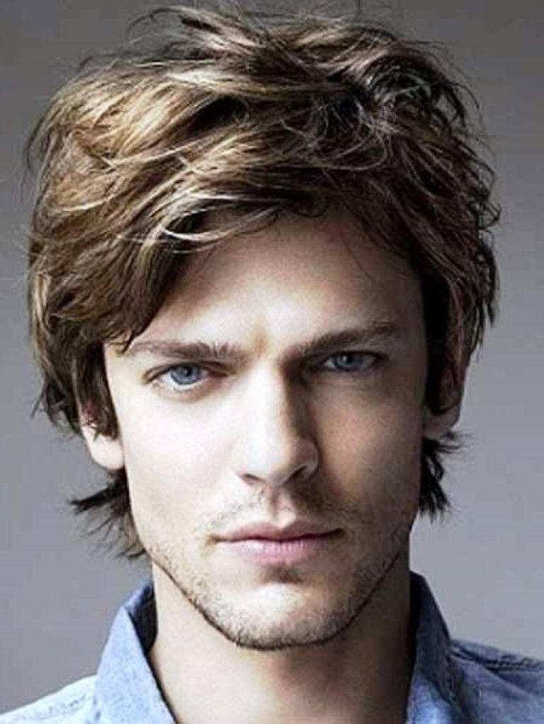 Men Medium Length Hairstyles 2015 Pinterest