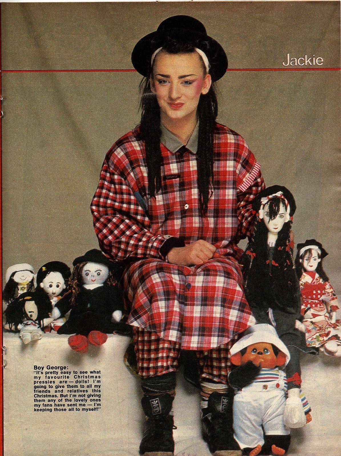 Jackie magazine 17 december 1983 issue 1041 boy