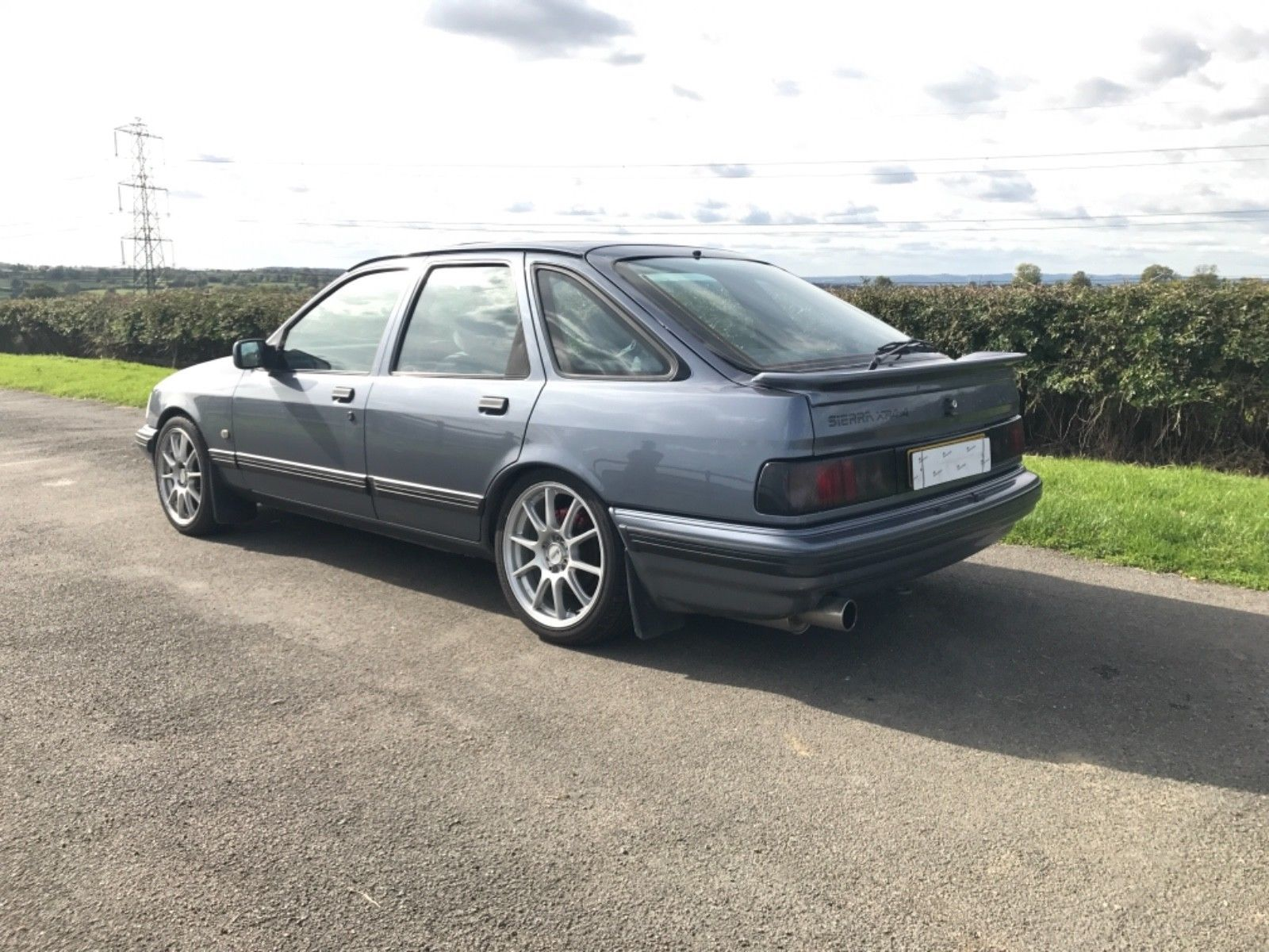 This Ford Sierra Xr4i 4x4 V6 2 8 In Grey E Reg 77k Cosworth One Previous Owner Vgc Is For Sale Ford Sierra Ford Classic Cars Ford