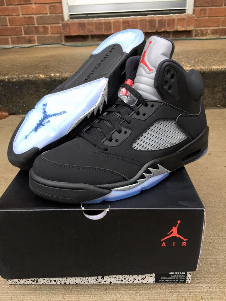 buy popular 6f960 f7dcd Nike Air Jordan 5 OG Black Metallic Silver 2016 | Foot wear ...