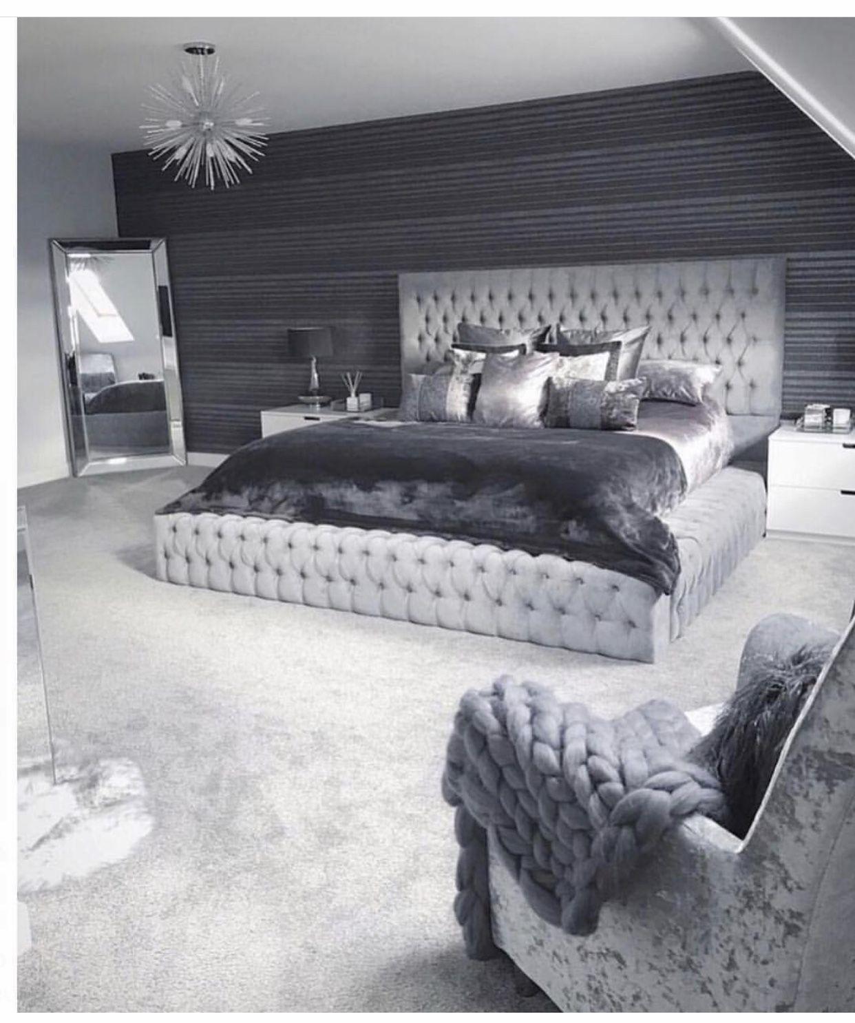 Pin by Demi steel on Bedroom decor  Cozy master bedroom design