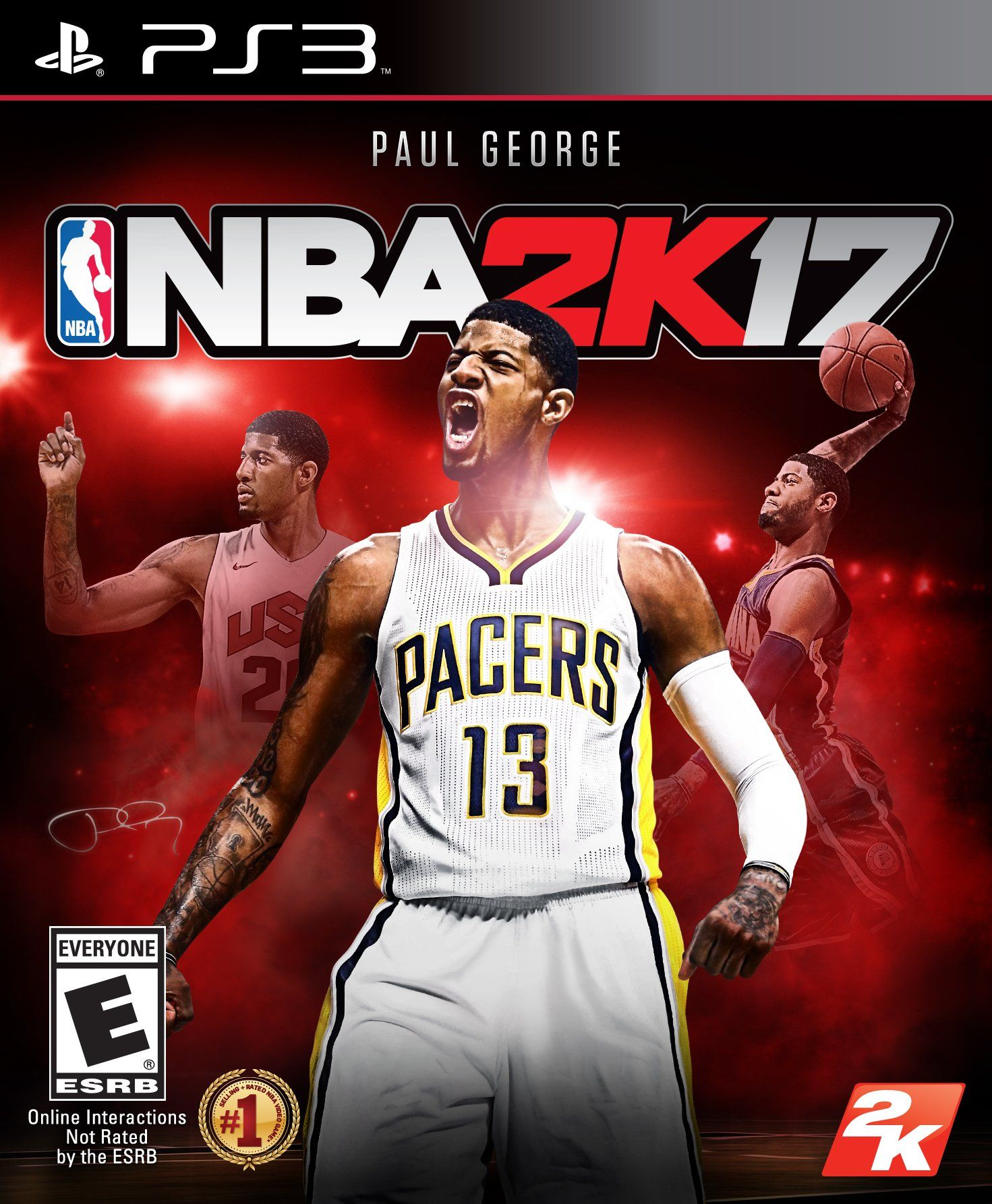 NBA 2K17 Standard Edition PlayStation 3,NBA, Standard