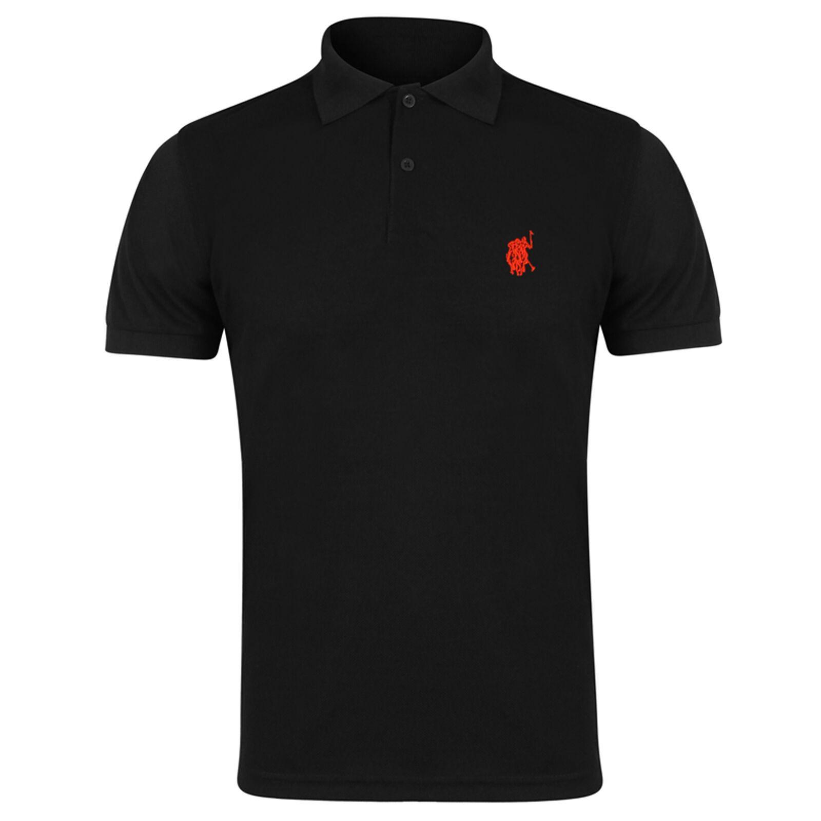 Mens Polo Shirt Short Sleeve Designer Shirts Top Plain