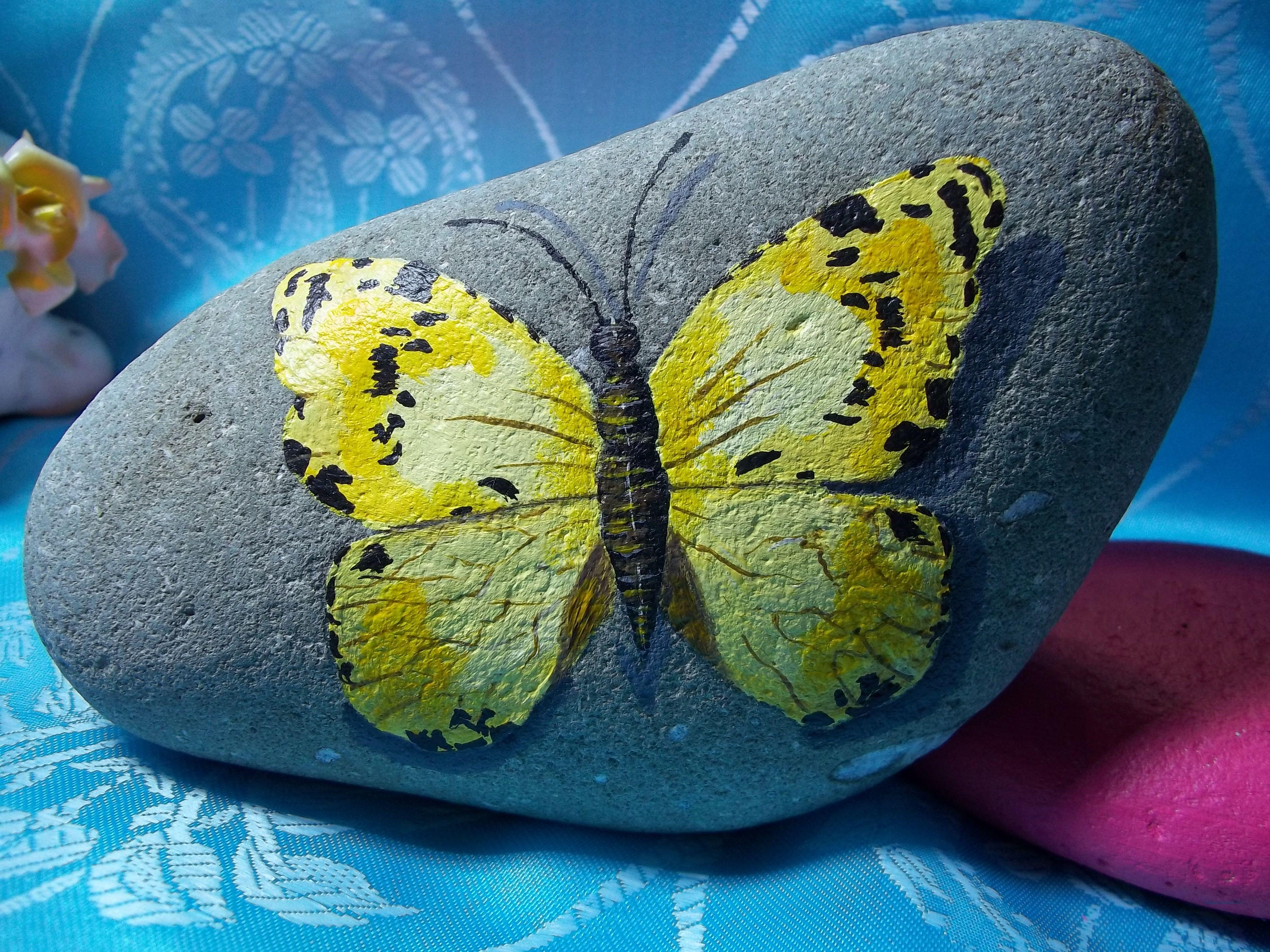 Картинки бабочек из камня