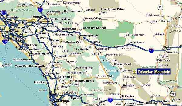 Map of Southern California  Travel Ideas  Pinterest  Southern