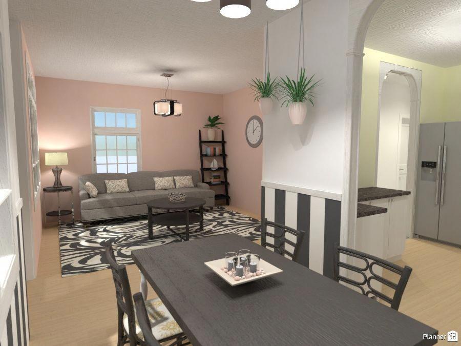 Living Room Dining Interior Planner 5d Interiordesignsoftware