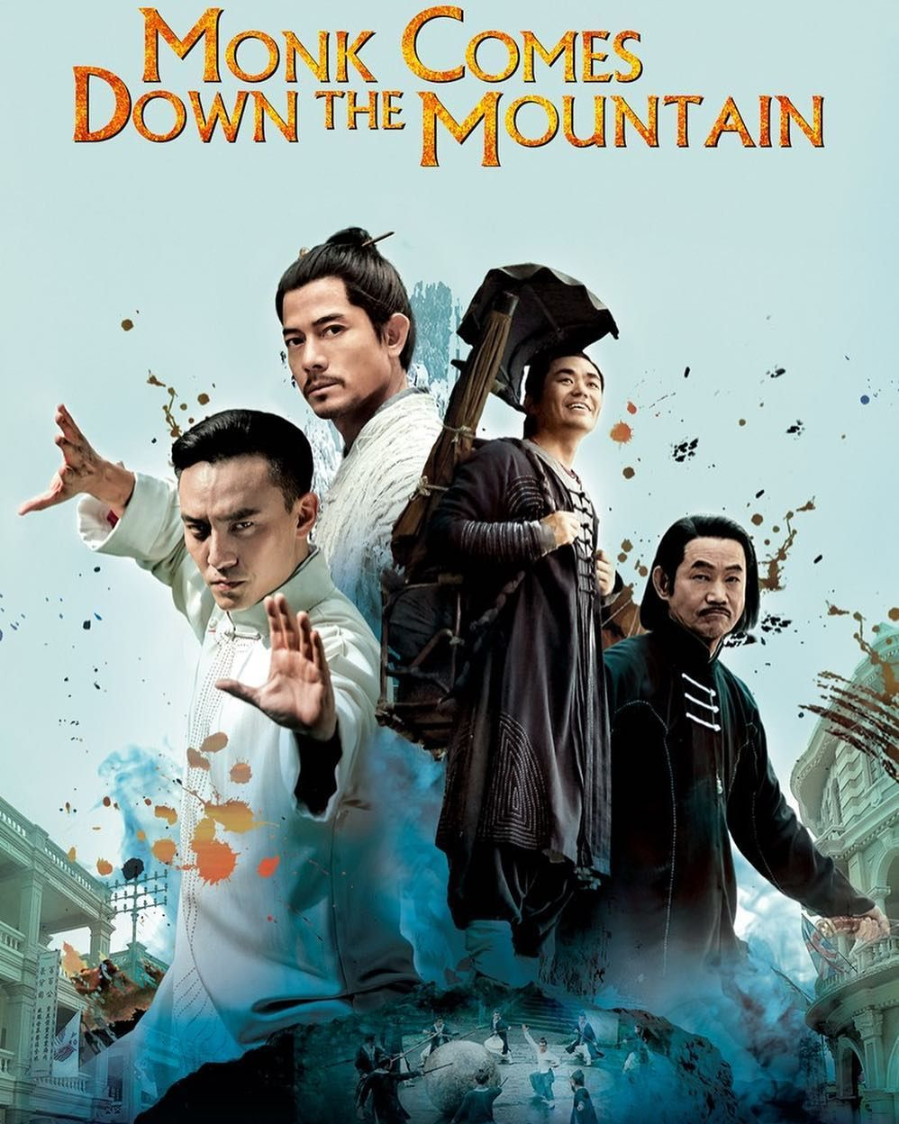 It S Time For Kung Fu Monk Comes Down The Mountain