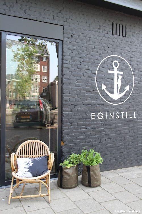 EginStill, Amsterdam, Netherlands · Ziegelhaus AußenAußenfarbenAmsterdam  NiederlandeLadenfrontenSchieferIdeen ParaUnternehmenStoresArchitektur