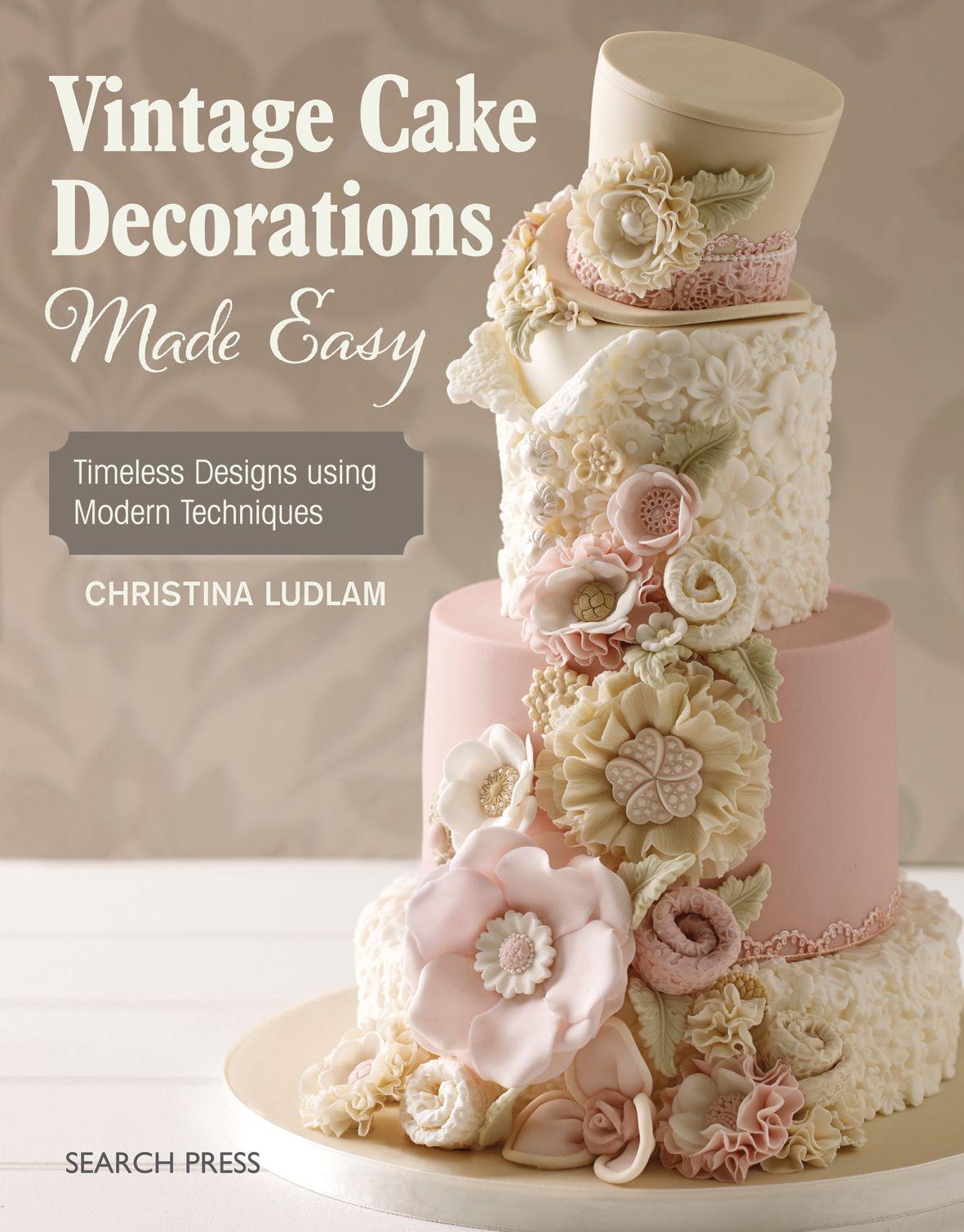 Vintage Cake Decoration Pattern Board  de