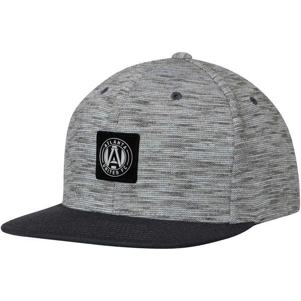 timeless design 96dd7 d559a ... promo code mens atlanta united fc mitchell ness gray brushed melange  snapback adjustable hat your 6a06f