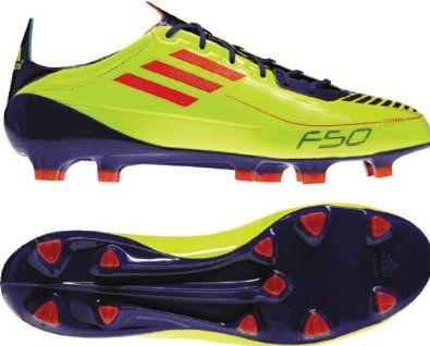 hot sale online ade5b 3a096 Adidas Adizero F50 FG Neon Yellow Purple Soccer Futball Cleats Men adidas.   99.82