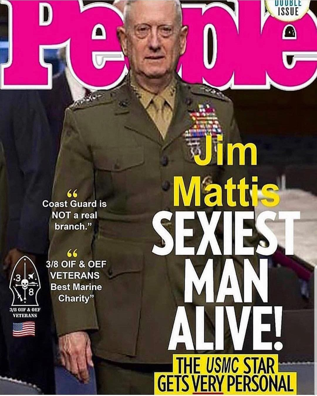 USMC 'People' 'Mad Dog Mattis' Cover (With images