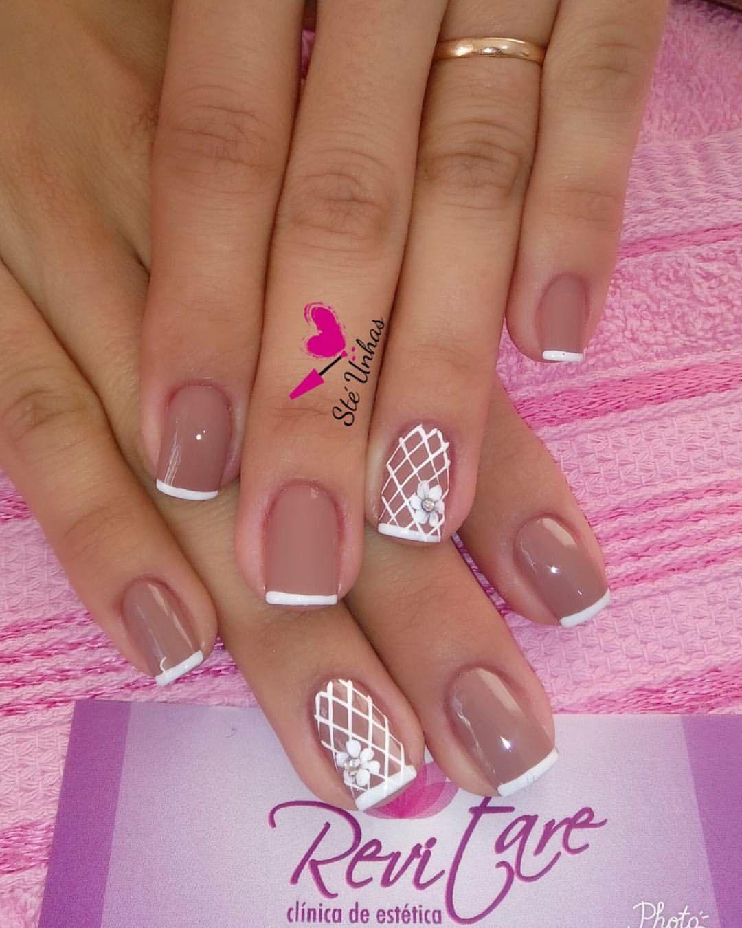 Pin de Naiane Silva en Unhas Instagram | Pinterest | Diseños de uñas ...