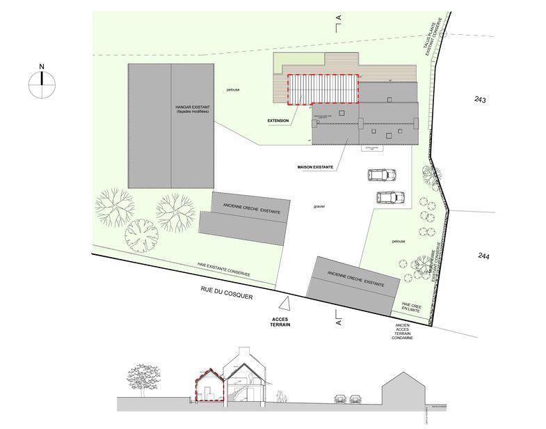 Extension du0027une maison à Plabennec (29) Extensions and Diffusers