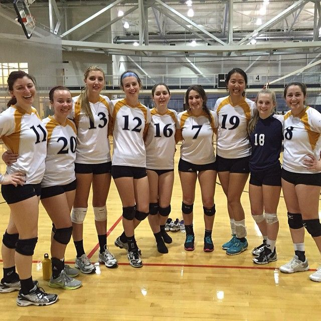 Emory Women Club Volleyball Took On Gatech This Past Weekend Emory Athlete Sports