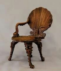 A Very Old Antique Walnut Chair Found...!! Hv A Look.