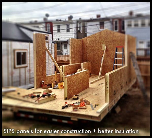 Structural Insulated Panels Sips Tiny House Tiny House On Wheels Tiny House Inspiration Building A Tiny House