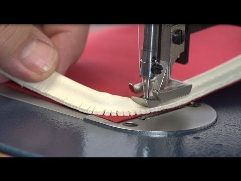 Learn How To Install Piping To Give Your Projects A Professional Edge In The Sixth Lesson In Sailrite S Learning To Sew Seri Sewing Piping Sewing Basics Sewing