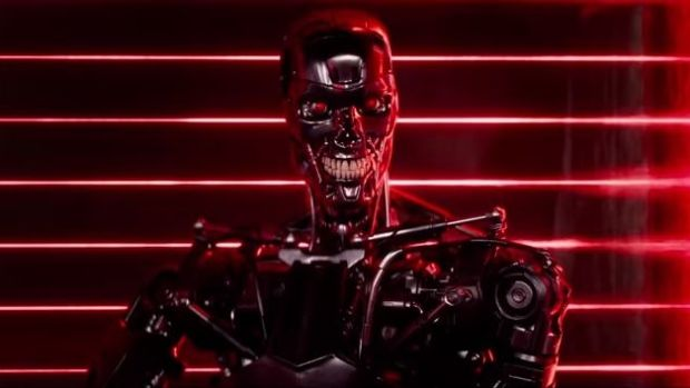 Popular works of science fiction, such as the trailer for Terminator: Genesys envision that when machines become more intelligent than humans, they will will destroy, enslave or assimilate us.