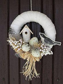Handmade vecičky na bývanie dekorácie Veľká Noc Vence