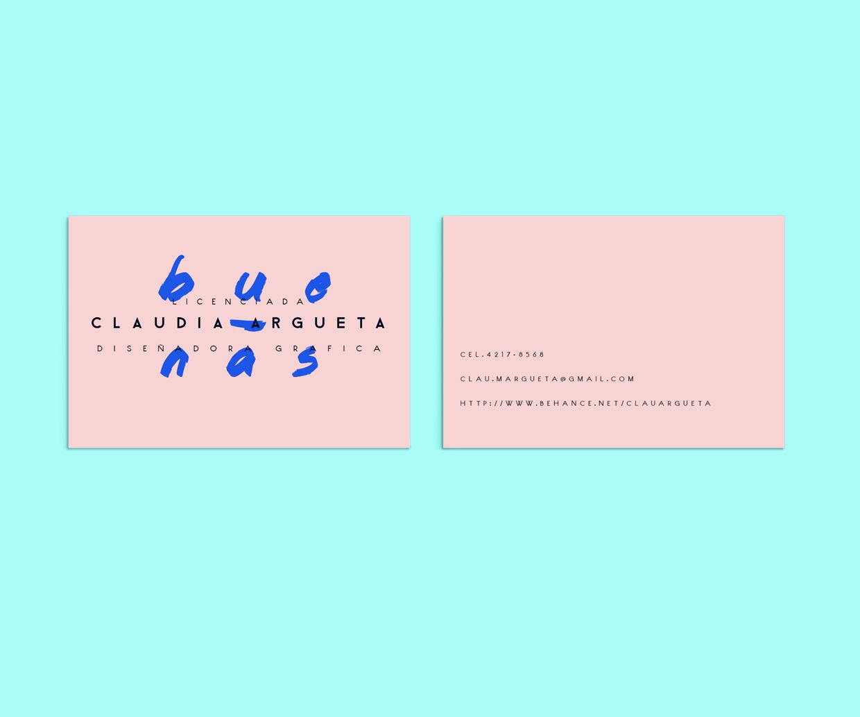CURRICULUM VITAE CLAUDIA ARGUETA on Behance | Personal Logo ...