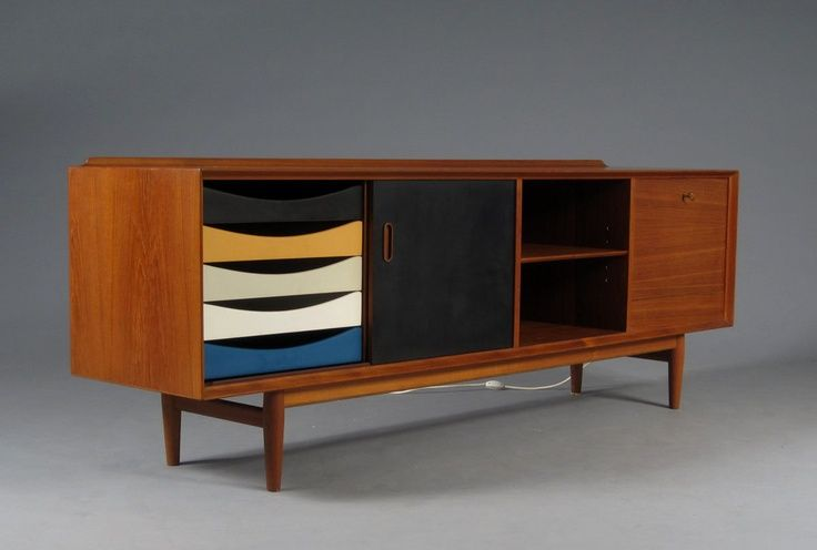 ... Mid Century Buffet Sideboard 9 Photo Image Original ...