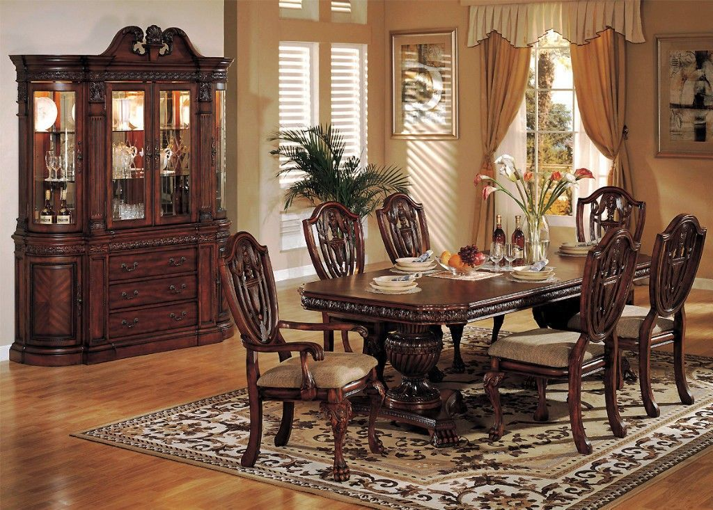 Cherry Wood Dining Room Set Cherry Wood Dining Room Double