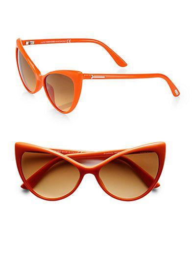 d02a29bce5927 Tom Ford Eyewear Anastacia Cat s-Eye Sunglasses
