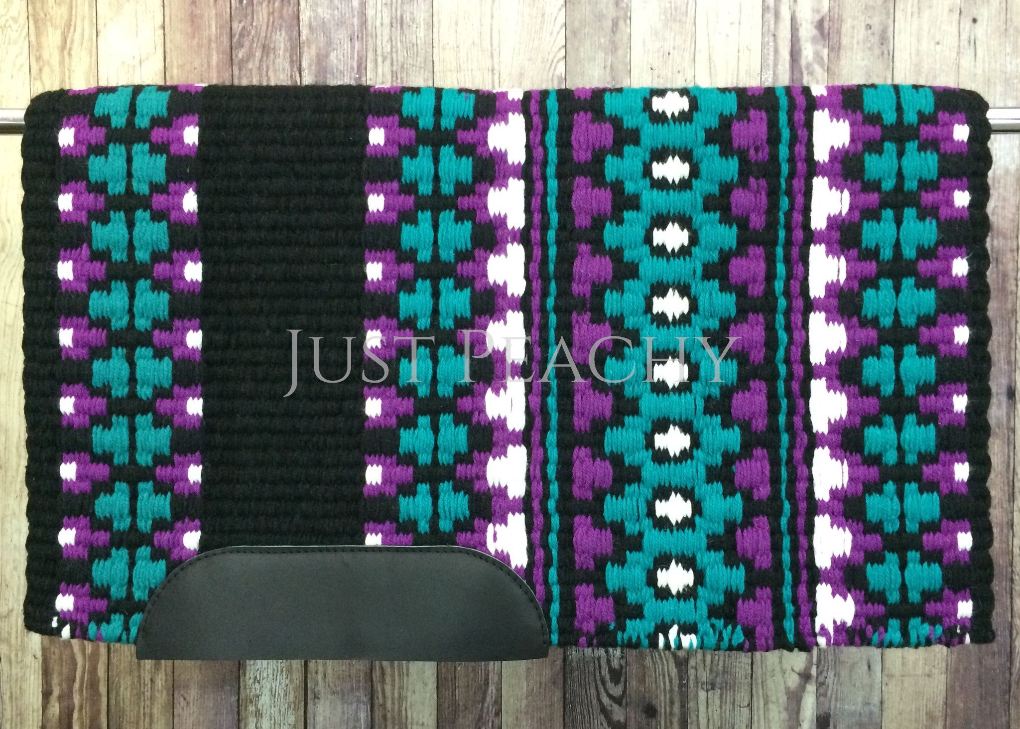 34 x 42 Oversized Western Show Pad/Saddle Blanket ~ Just Peachy #254