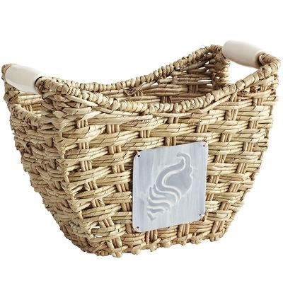 Buri Baskets with Ceramic Handles - I love them both!