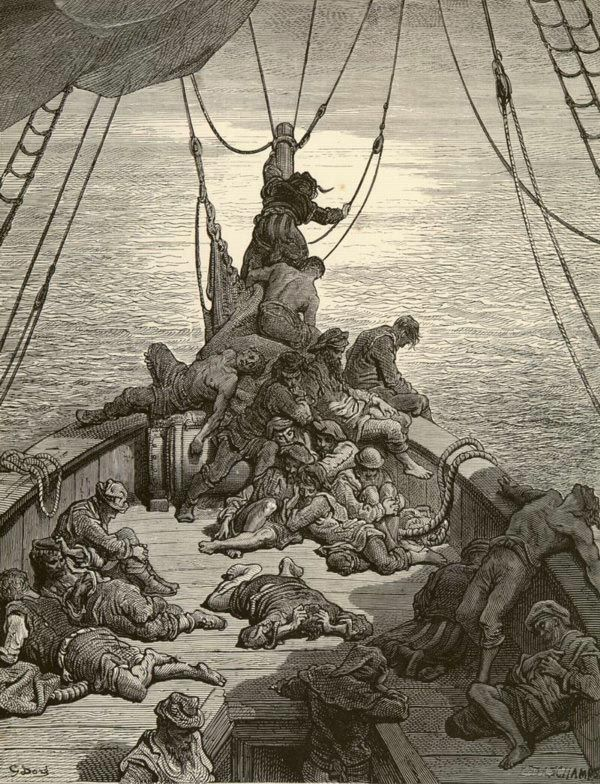 Image result for rhyme of the ancient mariner