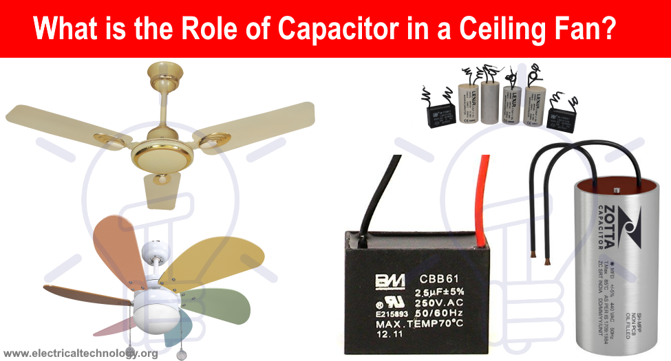 What is the Role of Capacitor in a Ceiling Fan? Ceiling