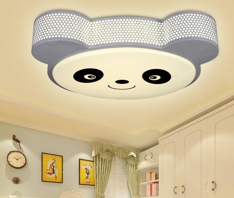 Hot sales Modern panda led ceiling light for livingroom Bedroom 24W ...