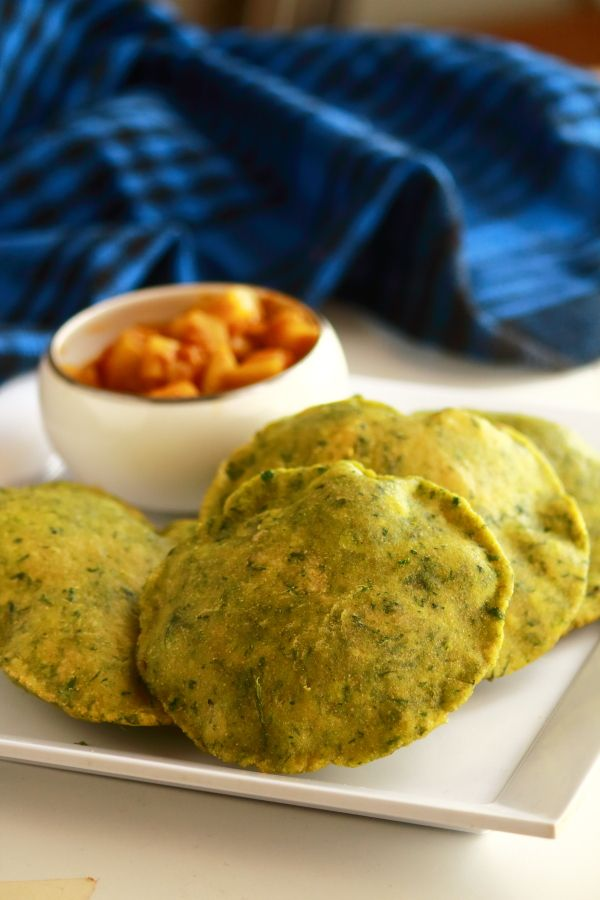 Palak poori recipe easy breakfast gundus kitchen pinterest palak poori recipe easy breakfast forumfinder Gallery