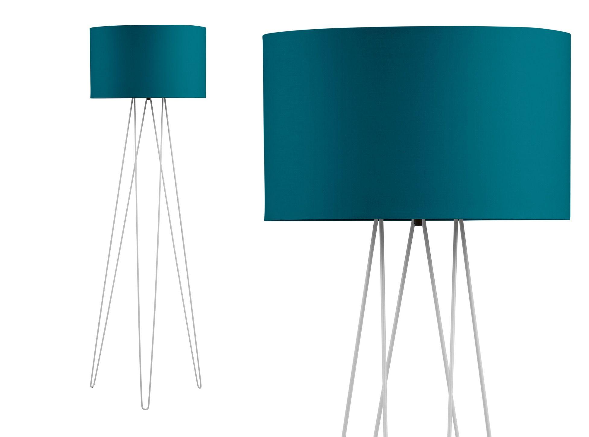 Erin Tripod-Stehlampe, Grau und Blaugrün | Neue wohnung, Produkte ...