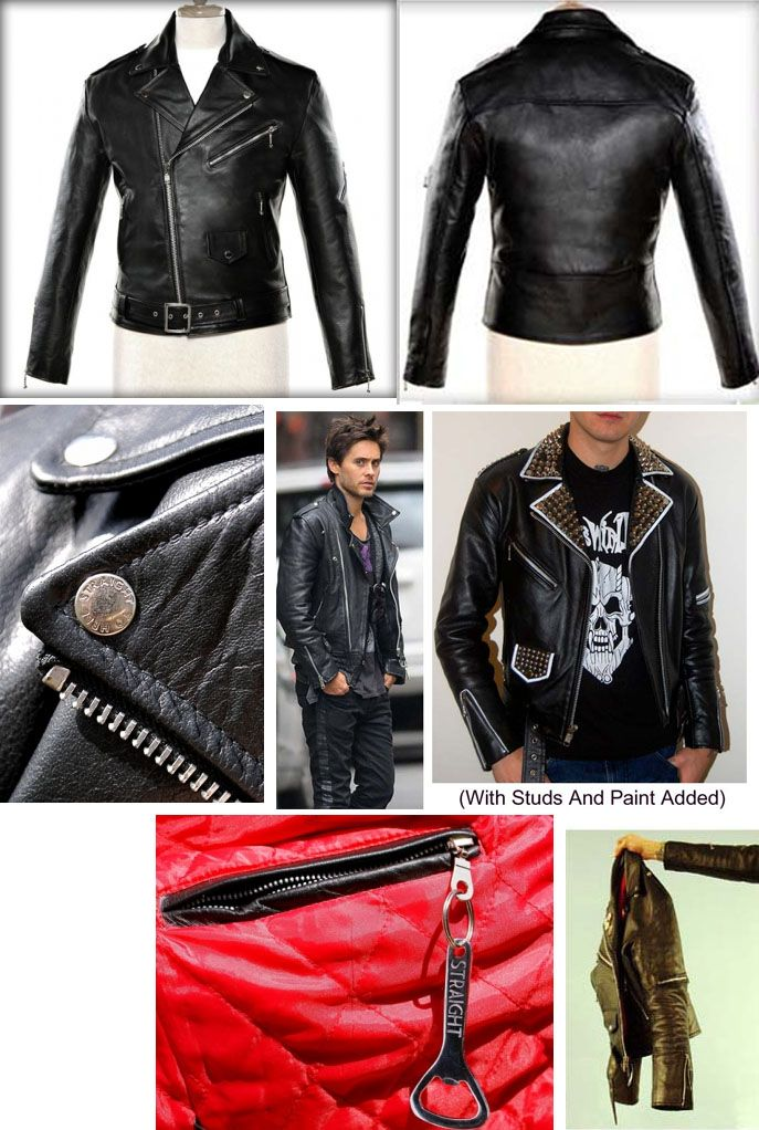 8ebcc2628a The Commando Leather Jacket in BLACK by Straight To Hell | Straight ...
