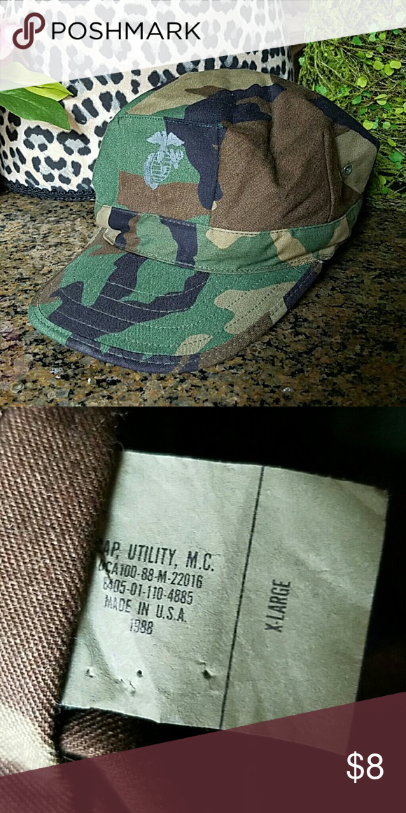 6e5702389 Military Cap Fun cap with support. Tag states XL. Cosmotis ...