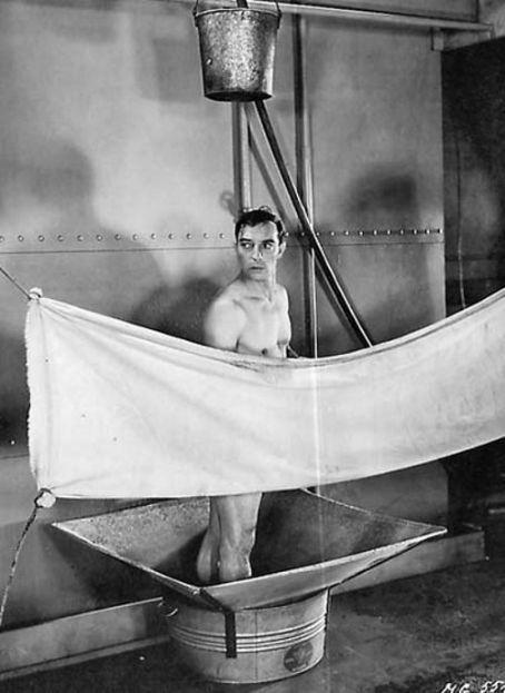 Naked Buster Keaton  Movie Men  Silent Film, Hollywood -5821